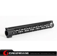Picture of GB MI Keymod 15 inch handguard rail system for AEG Black GTA1238