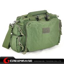 Picture of CORDURA FABRIC Tactical Computer Bag Green GB10021