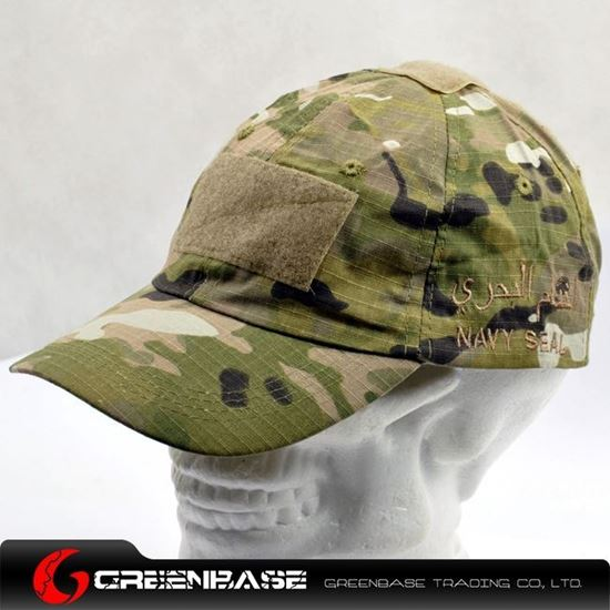 Picture of CAP0051 TMC Navy Seal Combat Velcro Cap Multicam GB10057
