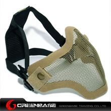 Picture of Tactical CM01 Strike Mesh Half Face Mask Khaki GB10060