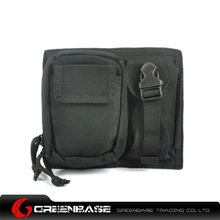 Picture of CORDURA Fabric MOLLE Modular 2 Pouch Black GB10087