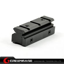 Picture of Tri-rail Dovetail 11mm to Weaver Picatinny Rail Riser Adapter NGA0210