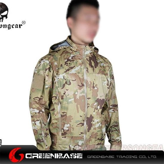Picture of EM6873A Outdoor Light Tactical Soft Shell Jacket NG9044