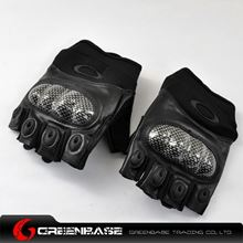 Picture of GB OK Half Finger Gloves Black-XL size NGA0799