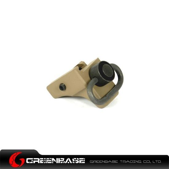Picture of Unmark Hand-Stop With QD Sling Swivel Dark Earth NGA0067