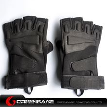 Picture of GB BH half finger Gloves Black-XL size NGA0805