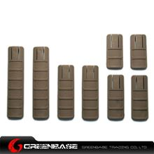 Picture of Unmark TGD Rail 8pcs Covers TAN NGA0088