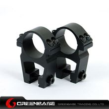 Picture of See-Through High Profile 1 inch Scope Rings for Dovetail NGA0849