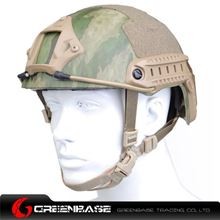 Picture of  NH 01001-AT-FG FAST Helmet-Standard TYPE GB20007