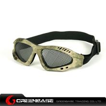 Picture of Tactical Metal Wire Goggle A-TACS NGA0117