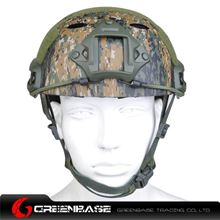Picture of  NH 01002-Woodland Digital FAST Helmet-PJ TYPE Woodland Digital GB20024