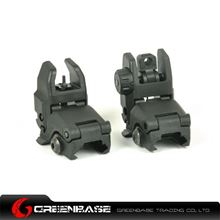 Picture of Unmark Polymer Front & Rear Folding Sights Black GTA1017