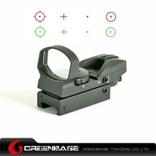 Picture of Tactical 4 Reticle Pattern Dot Electro Red and Green Dot Rifle Scope Fit 20mm Weaver Rail Black NGA0367