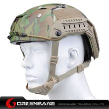 Picture of  NH 01103-Multicam FAST Helmet-BJ Maritime TYPE MC GB20164