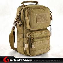 Picture of 9060# 1000D Single shoulder bag Khaki GB10197