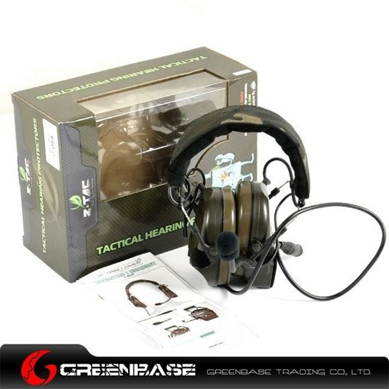 Picture of  Z 054 Comtac I Noise Reduction Headset With New Military Standard Plug GB20073