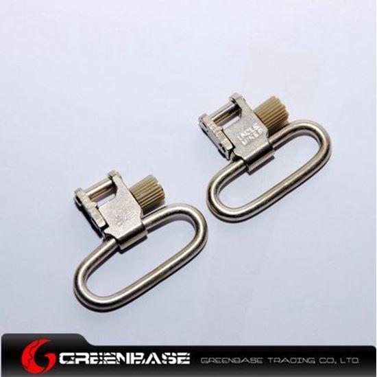 Picture of UM 1093-3 Quick Detachable Super Swivels 5/4 inch Silver NGA0438
