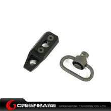 Picture of GB KeyMod Push Button Sling Mount Black GTA1175
