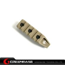 Picture of GB Keymod 5 slot rail section for URX 4.0 Dark Earth GTA1178