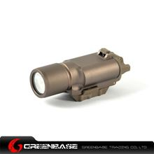 Picture of Unmark X300 LED WeaponLight Coyote Brown NNGA0475