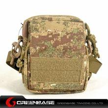 Picture of 1000D Single shoulder bag Khaki Camouflage GB10210