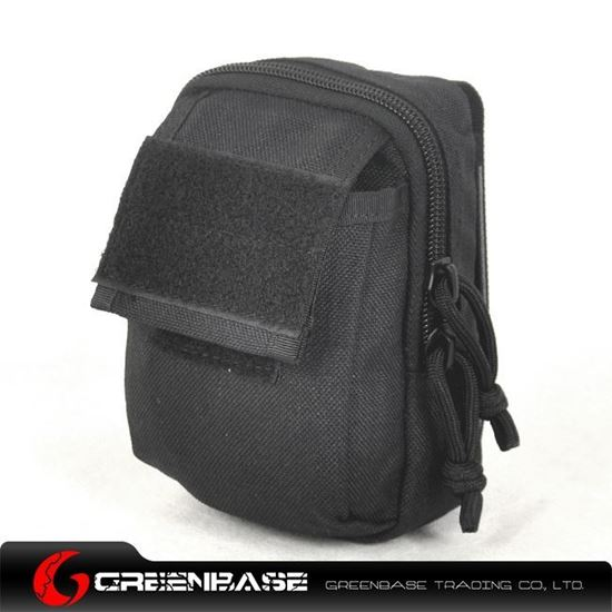 Picture of 1000D Backpack attachment bag Black GB10225