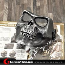 Picture of M02 soldiers face mask to protect the skeleton Silver Black GB10239
