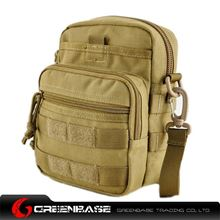 Picture of 9099# outdoor single shoulder bag Khaki GB10262