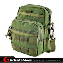 Picture of 9099# outdoor single shoulder bag Green GB10264
