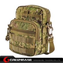 Picture of 9099# outdoor single shoulder bag Green Camouflage GB10269