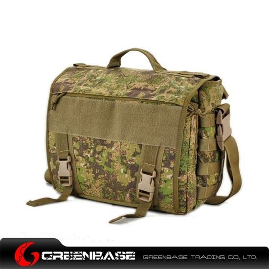 Picture of Tactical Computer Bag Green Camouflage GB10323