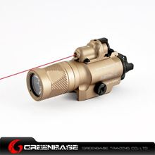 Picture of GB X400V Red Laser and LED WeaponLight Dark Earth NGA0917
