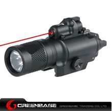 Picture of NB X400V LED Handgun Flashlight Weapon light With Red Dot Sight For Rifle Scope For Hunting Black NGA1014