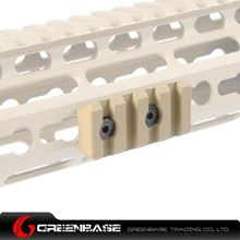Picture of NB  KM system 4-Slot Rail base for NSR rail Dark Earth NGA1092