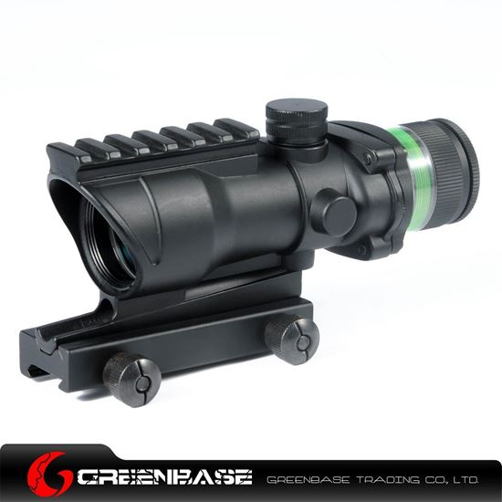 Picture of Tactical 4X32 with Green Illumination Source Fiber NGA0943