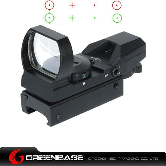Picture of Unmark 1x22x33 Red and Green Dot Sight Scope NGA0144