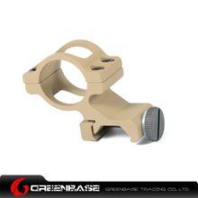 图片 Unmark Offset Flashlight 1 inch Ring Mount Dark Earth NGA0347