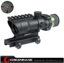 Picture of NB Tactical 4X32 with Yellow Illumination Source Fiber NGA1088