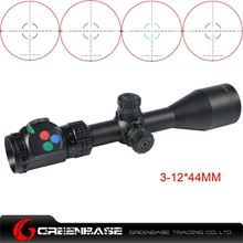 Picture of Woltis 3-12x44mm BDC & Mil-Dot & RXR Reticle Riflescope Black WT-SCP-001