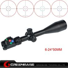 Picture of Woltis 6-24x50mm BDC & Mil-Dot & RXR Reticle Riflescope Black WT-SCP-006