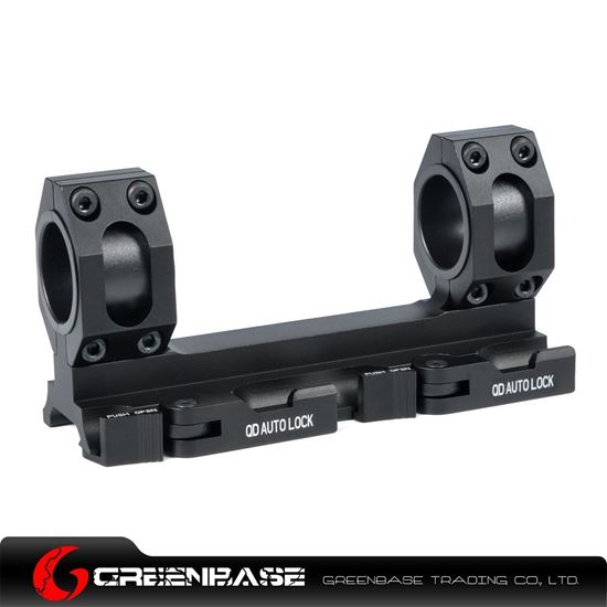 Picture of Unmark Tactical 25.4mm-30mm Ring Mount Black NGA0935