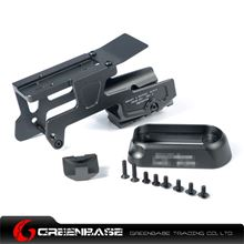 Picture of GB ALG 6-Second Mount for Glock 17 and 18C Pistols Black NGA1199