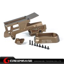 Picture of GB ALG 6-Second Mount for Glock 17 and 18C Pistols Coyote Brown NGA1200
