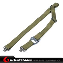 Picture of NB MS4 Tactical 2 Point Sling Gun Rope Multi Mission Rifle Sling Quick Release Rifle Outdoor Combat Gear sling swivels Olive Drab NGA1203