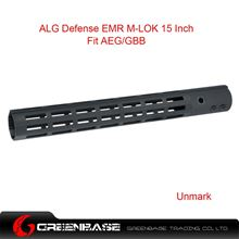 Picture of NB ALG Defense Ergonomic Modular Rail (EMR) M-LOK 15 Inch Black GTA1392