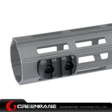Picture of NB 3 Slots M-LOK Rail Section Fits M-LOK Hand Guard Black GTA1401