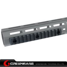 Picture of NB 13 Slots M-LOK Rail Section Fits M-LOK Hand Guard Black GTA1412