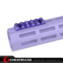Picture of GB Co-Witness Accessory Rail for EMR with M-LOK Purple GTA1418