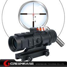 Picture of NB Gp01 Fiber Source Red Illuminated Riflescope Black NGA1221