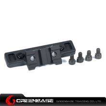 Picture of NB ARES Octarms 45 Degree 2 Slot Rail for Keymod System Black GTA1492